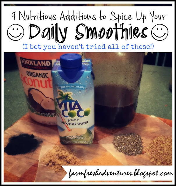 Nutritious Additions to Spice Up Daily Smoothies