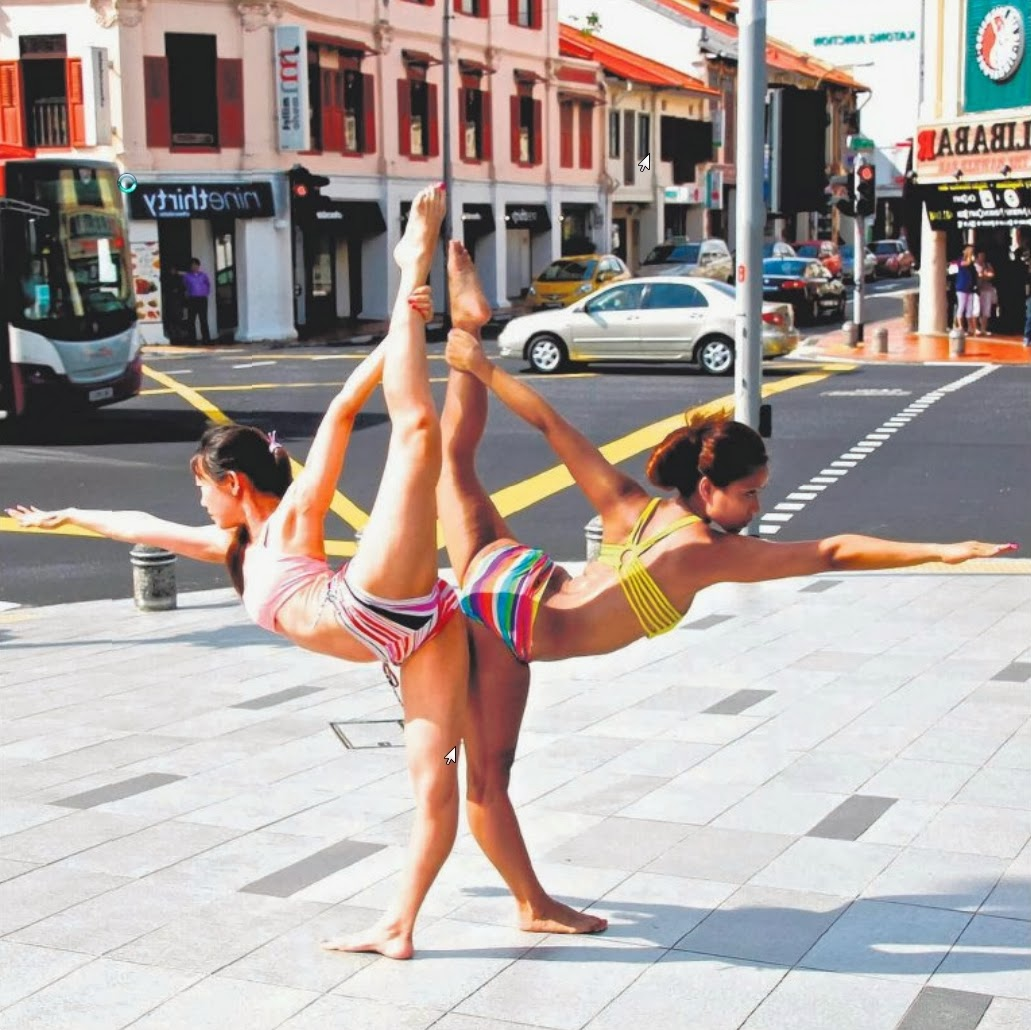 Bikram Yoga Katong aims to teach its students that even in the midst of noise and traffic, one can find peace through one's practice.