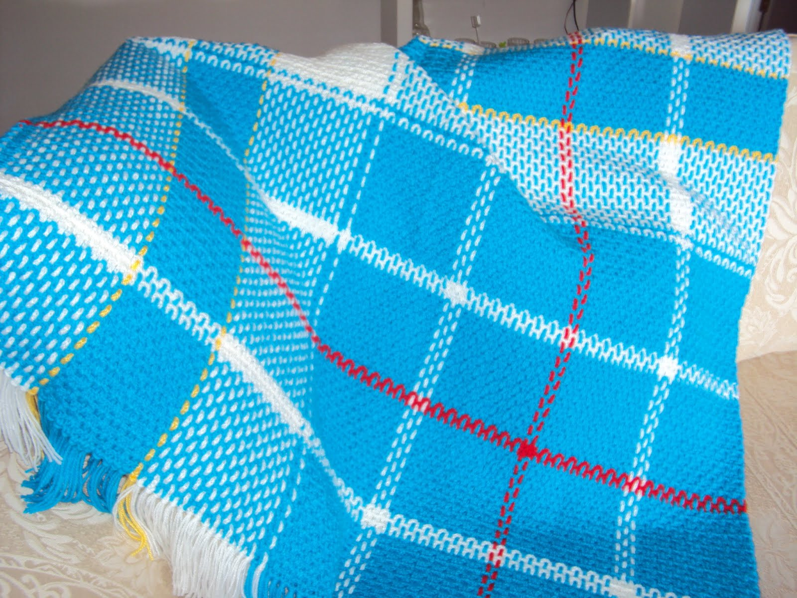 Crochet Pattern Plaid Afghan : American and Canadian Tartans: Colourful American and ...