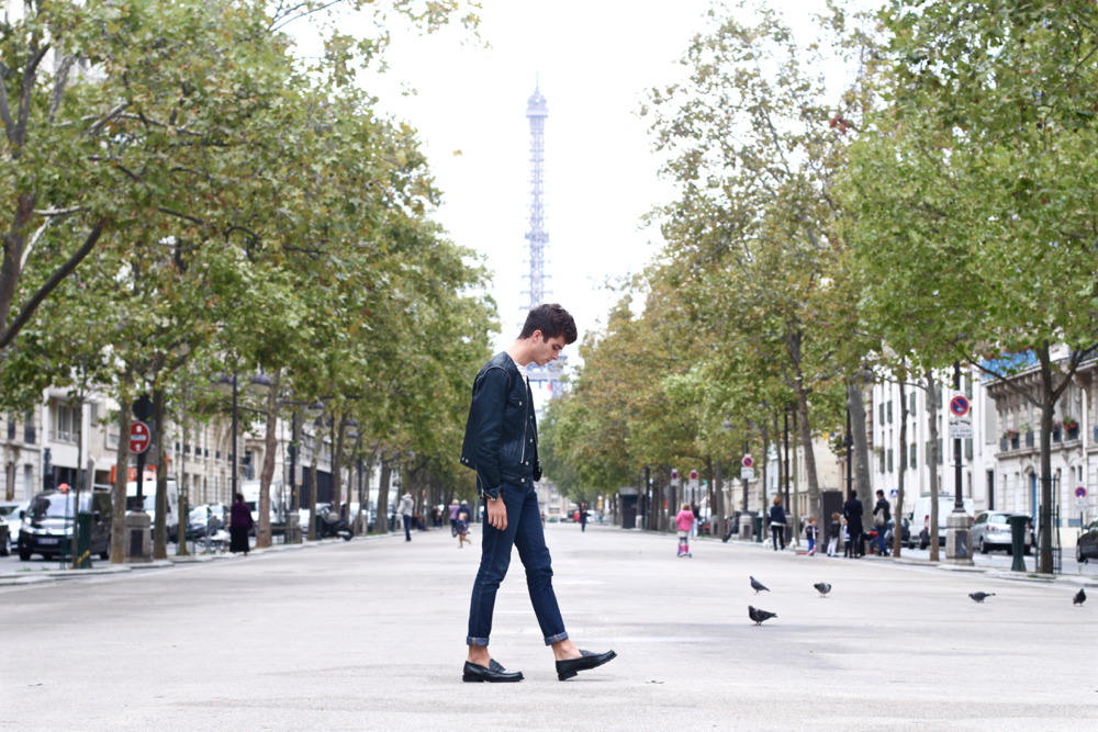 BLOG-MODE-HOMME-Paris-dries-van-noten-zipper-jacket-briston-gentle-factory-preppy-churchs - 2