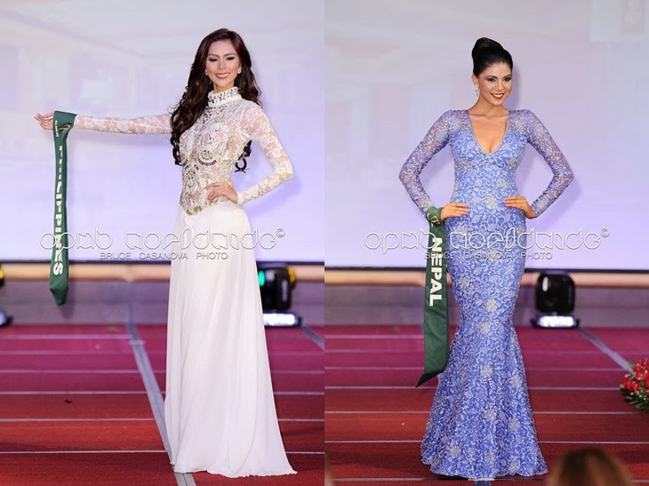 Miss Earth 2013 Evening Gown Competition
