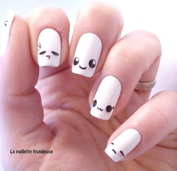 9 cute kawaii nail art design