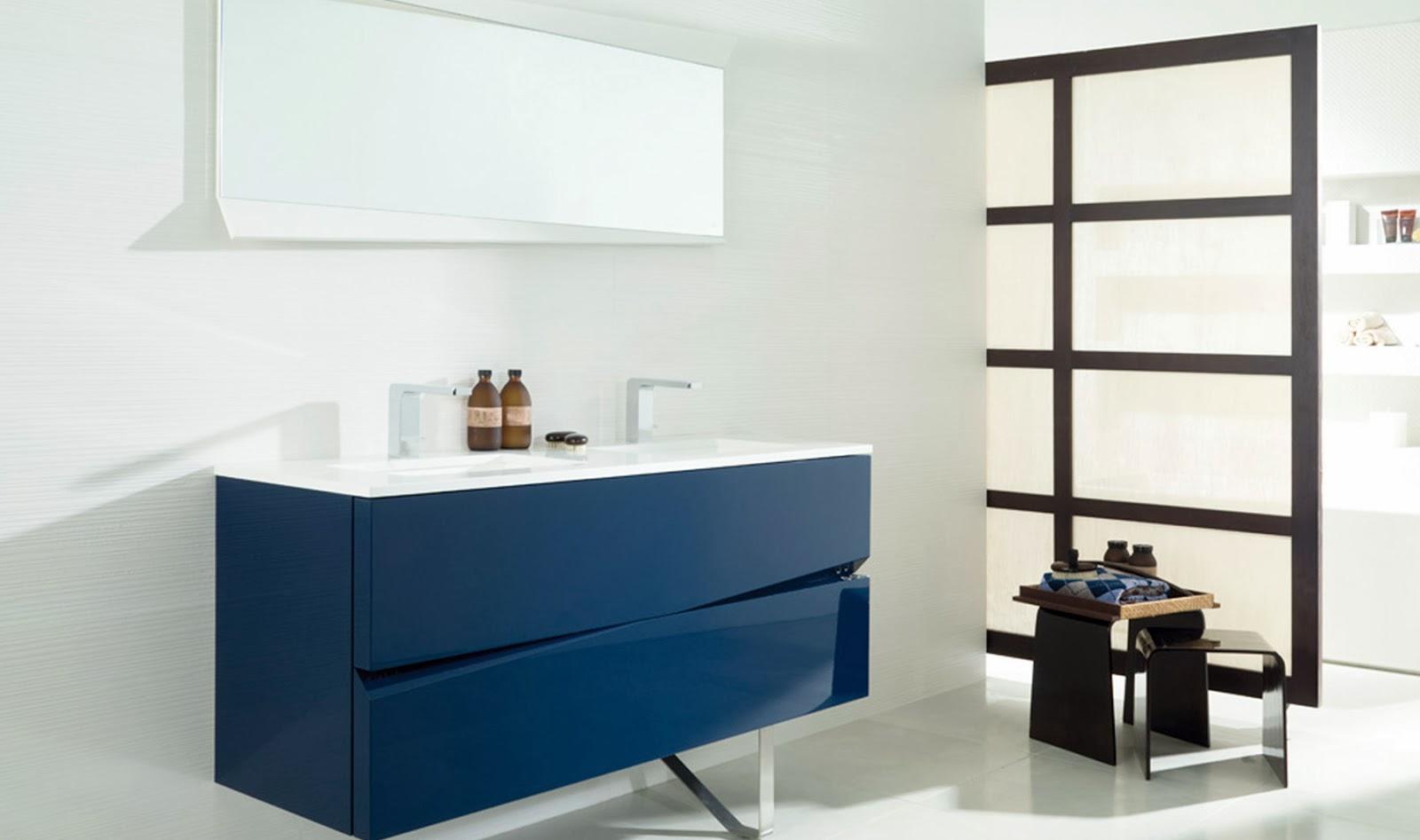 Mueble Baño Azul Turquesa:Decoracion Actual de moda: Baños en distintos tonos de Azul