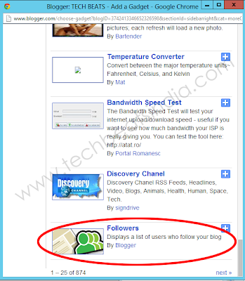 ga2 How to get back your GFC Followers gadget on blogger