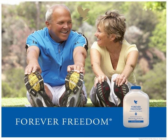 thành phần Forever Freedom dinh dưỡng cho xương khớp