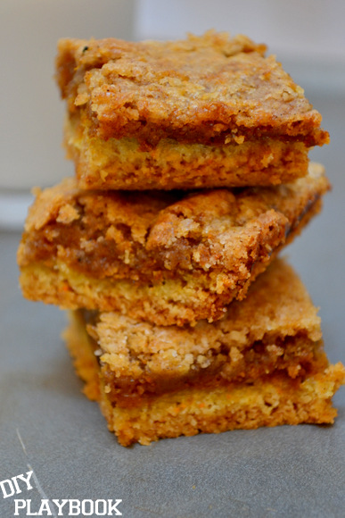STacked Pumpkin Squares