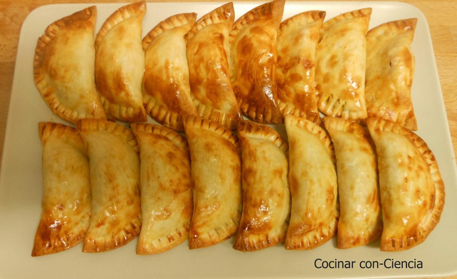 Cocinar con ni os 7 empanadillas de salsa bolo esa for Cocinar 180 grados