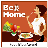 Be@Home Food Blog Award