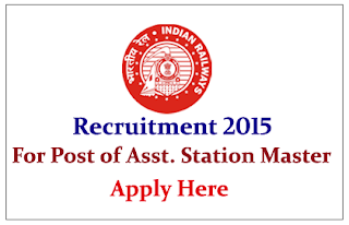 South Western Railway Recruitment 2015 for Post of Asst. Station Master