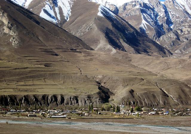 Кавказ. Джейрах - красивые старые горы