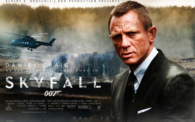 Skyfall PowerPoint background 07