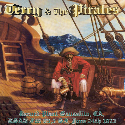 Terry & The Pirates - Record Plant - Sausalito, CA - Ksan FM - 1973-06-24