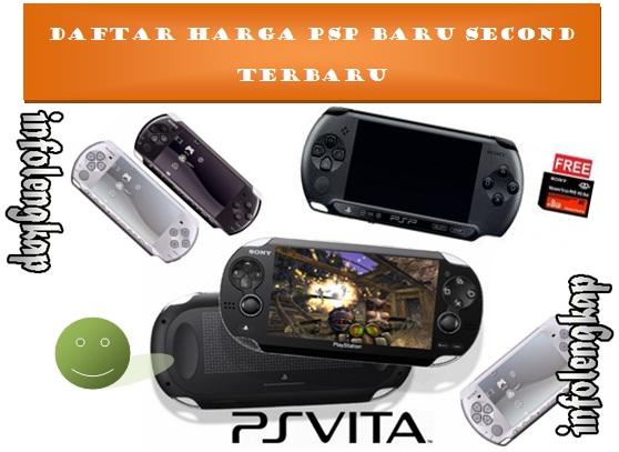 NEW!! Harga PSP Baru Second 2017