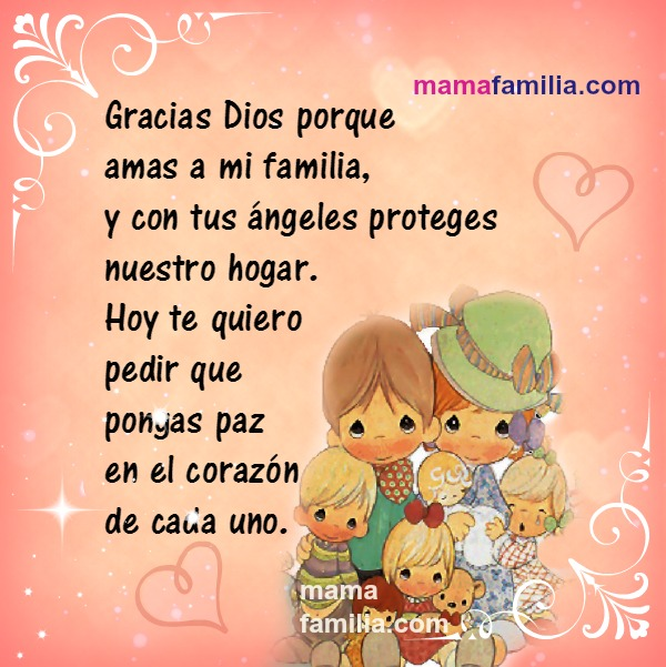 frases de familia oracion por Mery Bracho