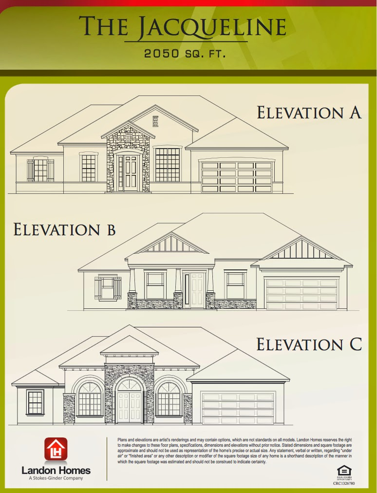 Landon homes featuring the jacqueline floor plan benton for Landon homes floor plans