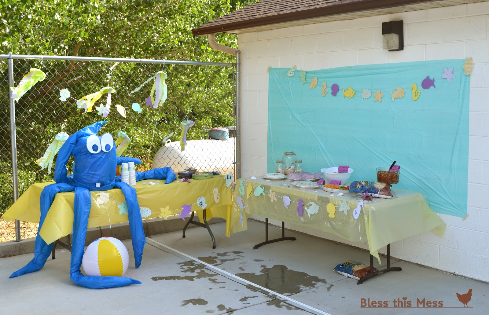 Beach Themed Party Decorating Ideas Part - 48: Bless This Mess