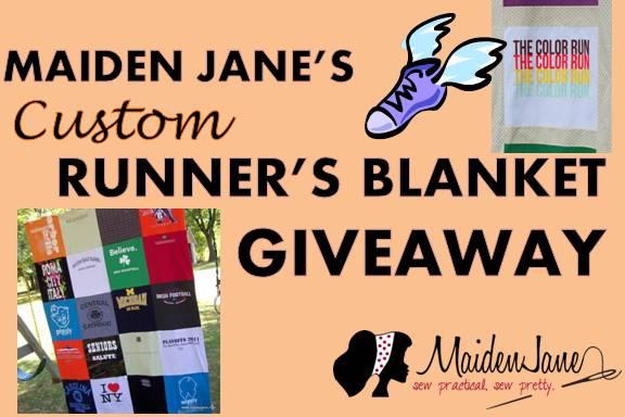 Maiden Jane's CUSTOM Runner's Blanket GIVEAWAY!