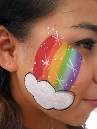 lukis wajah untuk pesta
