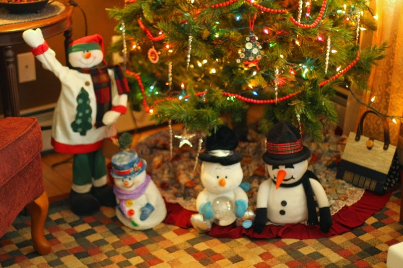 Decorated for the holidays at Amil's Inn B&B, Wilton, WI