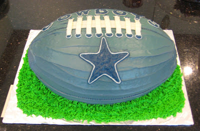 Dallas Cowboys Football Cake 1