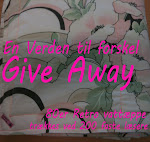 Give Away her på bloggen