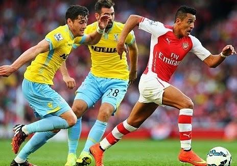 Crystal Palace vs Arsenal ,Peluang Gunners Naik Posisi 3