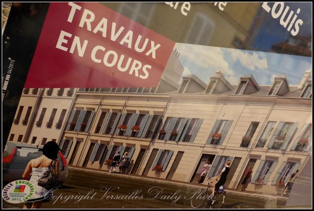 Travaux Saint-Louis Versailles