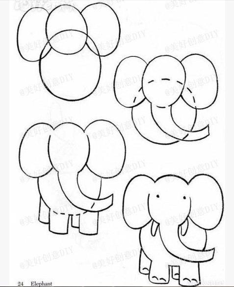 como hacer dibujos para ni u00f1os