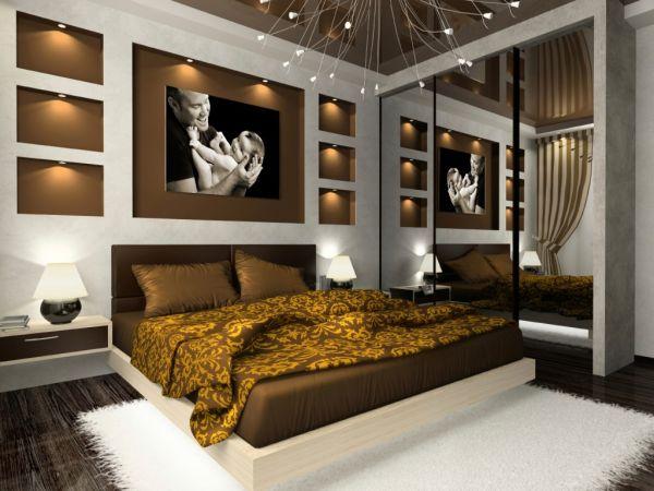 Fotos de dormitorios en chocolate dormitorios con estilo for Decoracion interior habitacion