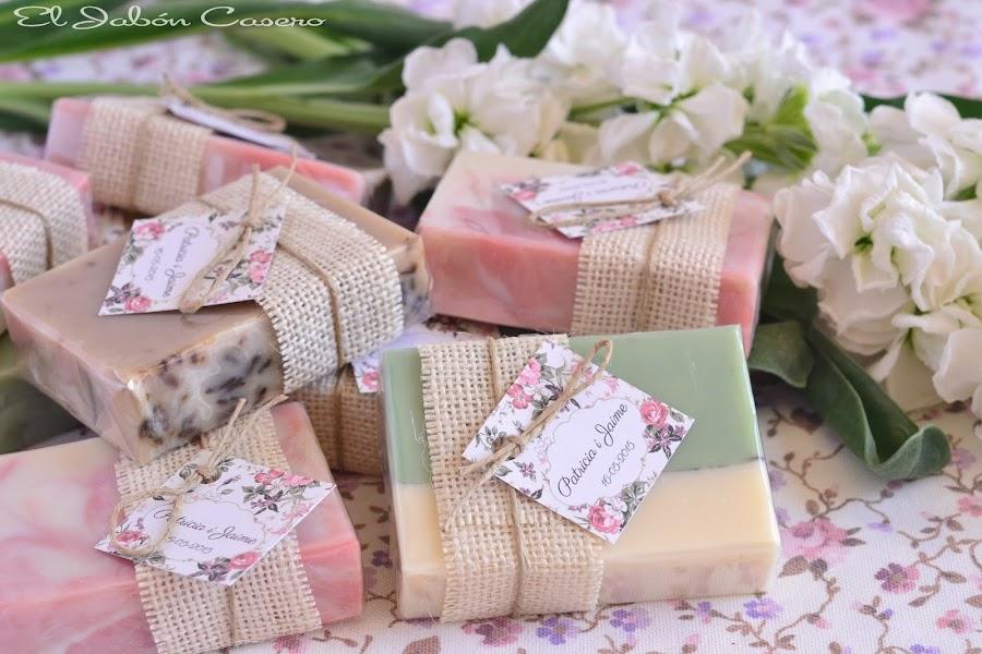 detalles artesanales para bodas jabones naturales