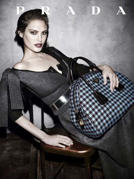 Catherine McNeil in Prada Fall 2013 Campaign by Steven Meisel