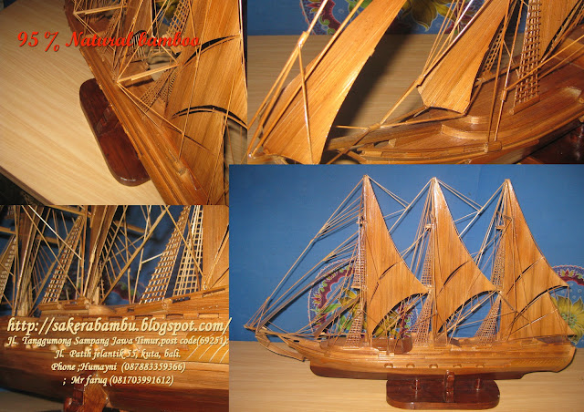 Sakera Bamboo Gallery  type :13 ,scale,,. Length  70 cm, height 48 cm.