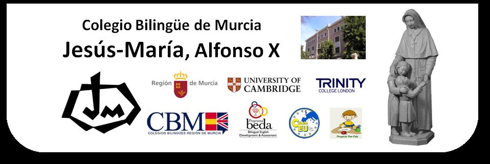 Colegio Bilingüe de Murcia - Jesús-María, Alfonso X, Murcia