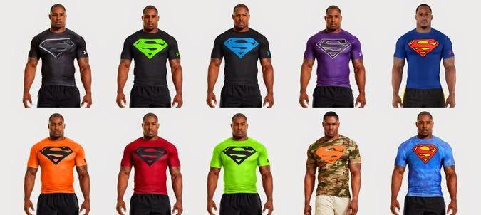 Superman Under Armour