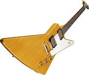 Guitarra Gibson Explorer com corpo em Korina
