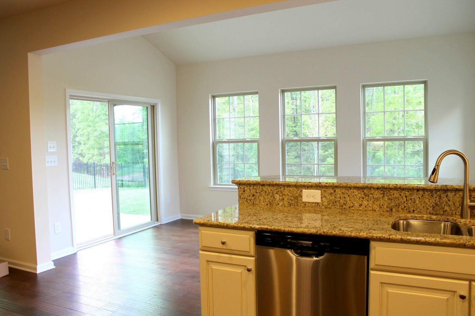 ryan homes morning room from kitchen naples