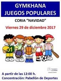 GYMKHANAS DE JUEGOS POPULARES