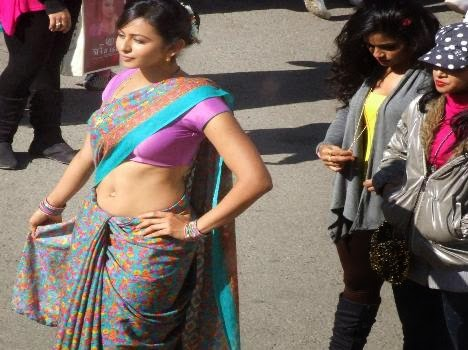Rakul Preet Singh's New Hindi Movie Shimla Mirchi Movie Working Stills