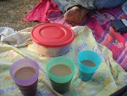 Chai on a hike!