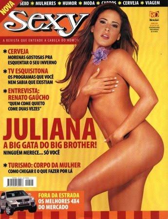 Juliana Lopes BBB4 nua