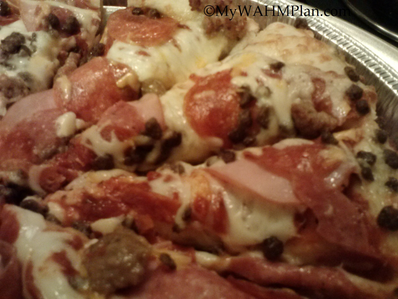Papa Murphy's Pan Pizza #manfuel