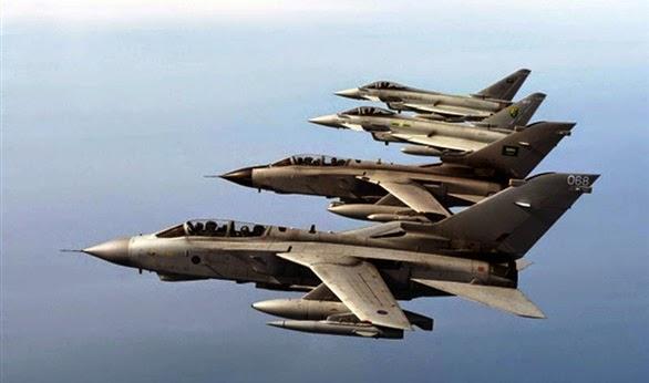السعودية ودول خليجية ومصر تبدأ عملية عسكرية ضد الحوثيين في اليمن