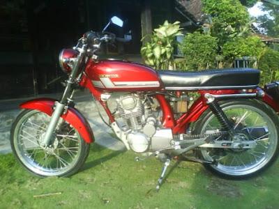 Honda Tiger Modif Motor CB 100