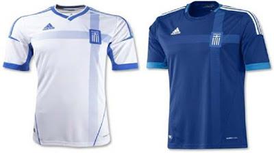 Jersey Yunani EURO 2012