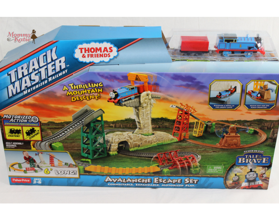 Luxury Aside from the big gap on the mountain Thomas must also cross the rickety bridge all while gaining speed so he can go faster and go through the spooky