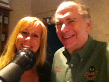 Radio Bobbleheads.....Kari and I Cut Commercial for The Mayor's Bar