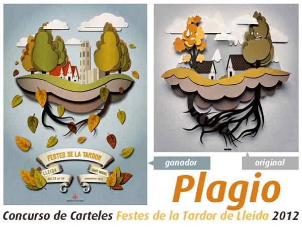 Comunidad Del Abeto Plagio En El Concurso De Carteles Festes De La