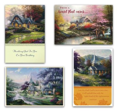 Thomas Kinkade Cards, Stationery & Calendars