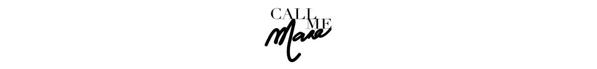 CALL ME MARA