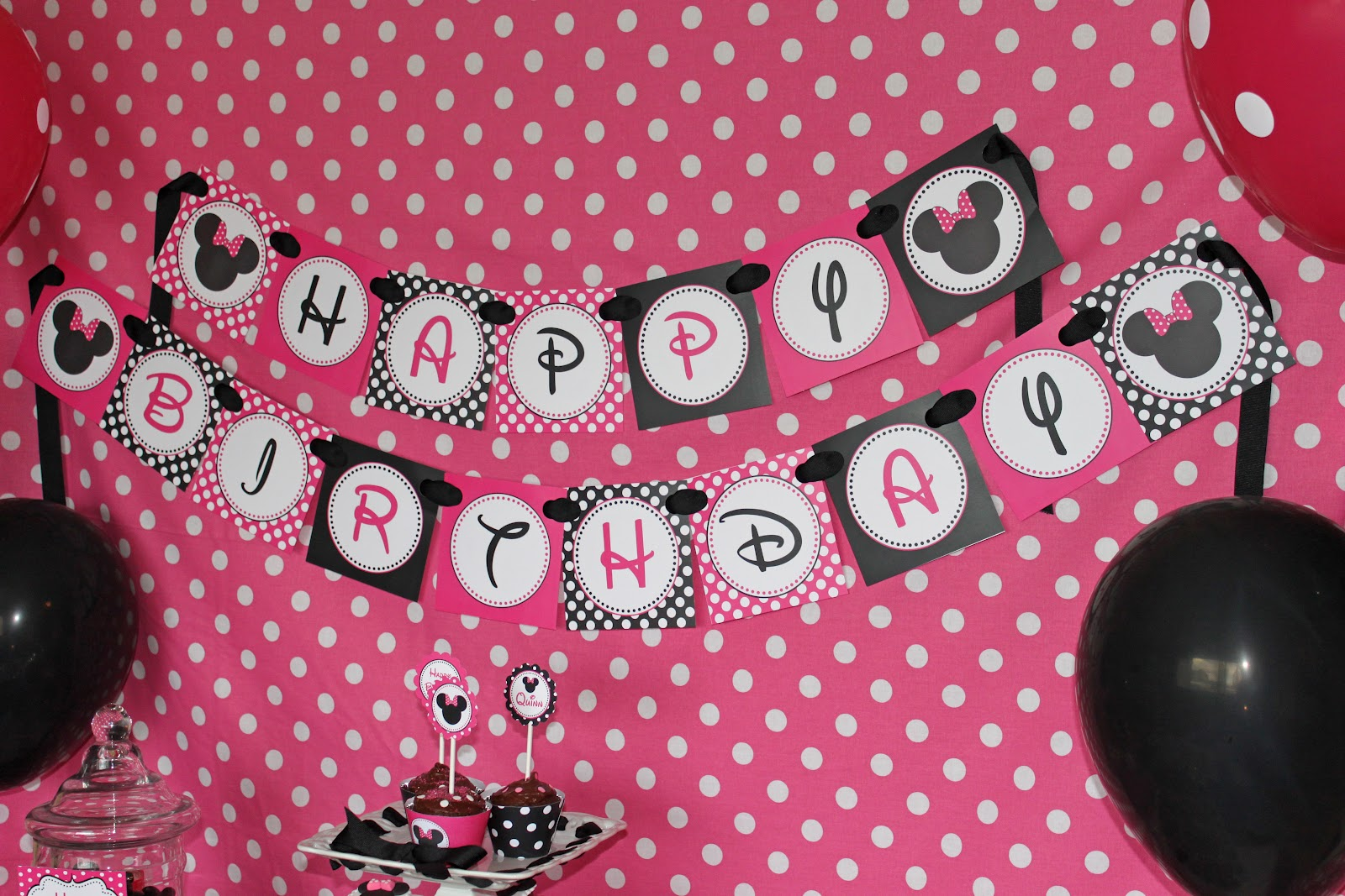 Birthday themes minnie mouse image inspiration of cake and join the conversation cancel reply amipublicfo Choice Image